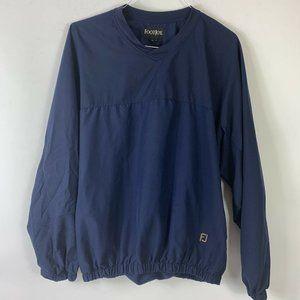 Footjoy Navy Blue Golf Pullover Shirt Men Sz L
